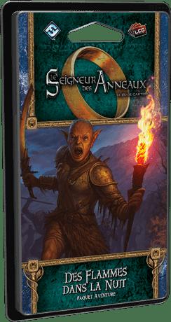 EDG762111 001 - Le Seigneur des Anneaux - Des flammes dans la nuit